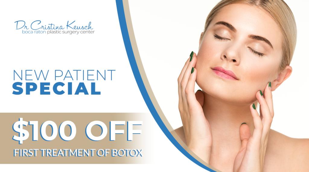 New Paitent Botox Special Boca Raton, FL