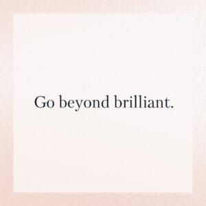 Alle - Go Beyond Brilliant