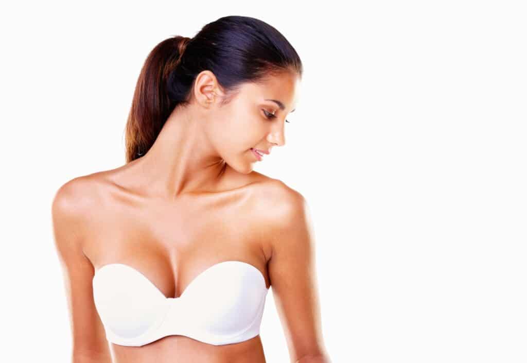 women who has had a breast lift