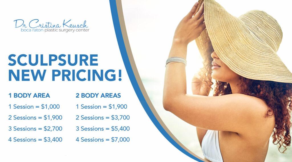Sculpsure Pricing at Boca Raton Plastic Surgery Center