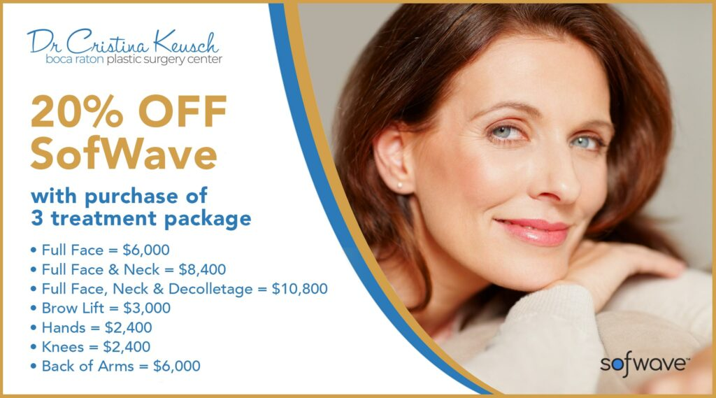 SofWave Ultrasound Treatment Special